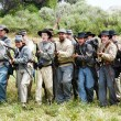 Confederate Charge — Stockfoto