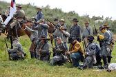 Rebels on the battlefield — Fotografia Stock