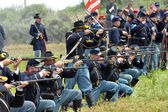 American Civil War - Federal/Union Soldiers — Stock Photo