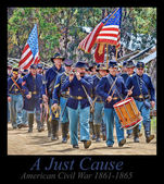 A Just Cause - American Civil War — Stock Photo