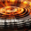 Concentricity aflame — Stock Photo
