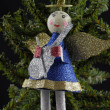 Stock Photo: Christmas angel decoration
