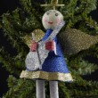 Christmas angel decoration — Stock Photo #14073539