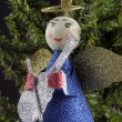 Christmas angel decoration — Stock Photo #14073541