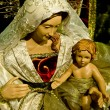 Osef and Mary with the young Jesus Christ in her arms - Stock Photo