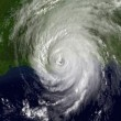 Satellite photo of Hurricane Katrina over The Gulf of Mexico — Stock Photo #14179468