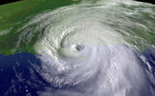 Hurricane Katrina 2005 — Stock Photo