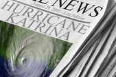 Hurricane Katrina — Stock Photo