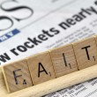 "Stock Photo: Word ""Faith"""