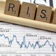 "The word ""Risk"" in business — Stock Photo #14227191"