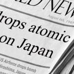 US drops atomic bomb on Japan — Stock Photo