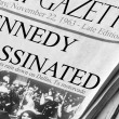Kennedy Assassinated — Stock Photo