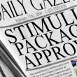 Stimulus Package Approved — Stock Photo