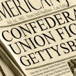 Union And Confederacy Battle in Gettysburg — Stock Photo #14227781