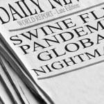 Swine Flu Pandemic Spreading — Stock Photo #14227929