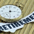 Retirement Timing — Stock Photo