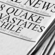 Quake Devastates Chile — Stock Photo