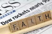 """The word """"Faith"""" — Stock Photo"""