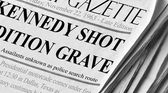 Kennedy Assassinated — Stock Photo