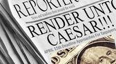 Render Unto Caesar — Stock Photo