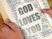 God Loves You — Stock Photo