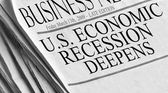 U.S. Economic Recession Deepens — Stok fotoğraf
