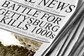 Battle For Gettysburg Kills Thousands — Stock Photo