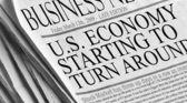 U.S. Economy Starting to turn around — Stock Photo