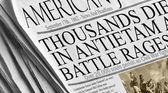 Thousands Die in Antietam — Stock Photo