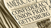 Union And Confederacy Battle in Gettysburg — Stock Photo