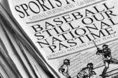 Baseball Still Our National Pastime — Stock Photo