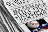Baseball Still Our National Pastime — Stock Photo