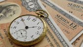 Savings Bonds — Stock Photo
