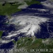 Stock Photo: Hurricane Sandy