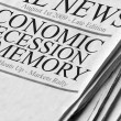Positive Newspaper headlines — Stock Photo #14397011