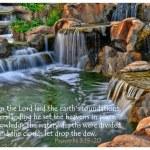 Garden of Eden - Proverbs 3:19 — Stock Photo #14397311
