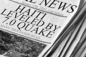 Earthquake in Haiti — Stock Photo