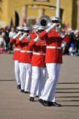 Members of the United States Marine Corps — Stock Photo
