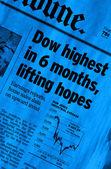 Positive Stock Market News — Stock Photo