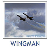 Wingman — Stock Photo