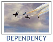 Dependency — Stock Photo