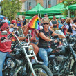 Stock Photo: Gay Pride Parade - San Diego, California 2011