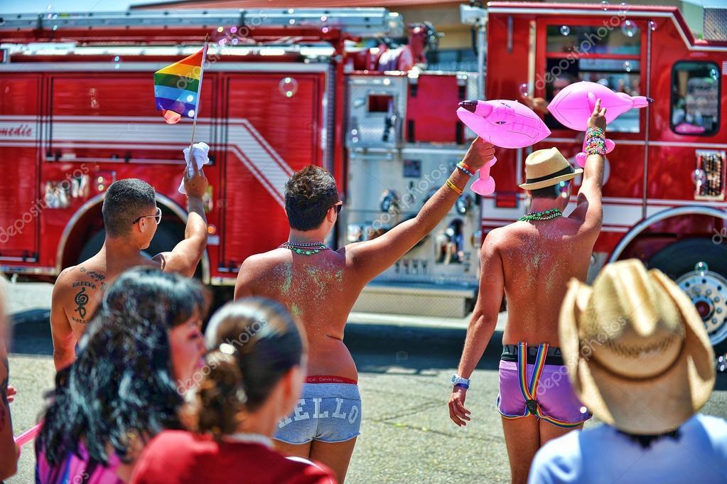 gay pride in california
