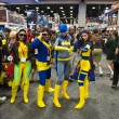 Stock Photo: SAN DIEGO, CALIFORNI- JULY 13: Several participants in costume while at Comicon in Convention Center on July 13, 2012 in SDiego, California.