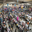 Stock Photo: SAN DIEGO, CALIFORNI- JULY 13: Thousands of participants on floor while at Comicon in Convention Center on July 13, 2012 in SDiego, California.