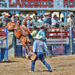 Stock Photo: Cowboys participate in Rodeo
