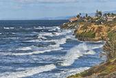 Shores of Carlsbad, Southern California (USA) — Stock Photo