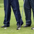 Time To Play Golf -four gentlement golfers - ストック写真
