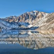 God's Glory - Convict Lake in California — Stock Photo