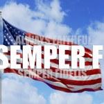 Always Faithful - Semper fi. — Stock Photo